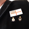 My badges and ensign.