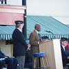 The mayor of Goldsboro also gave an address.