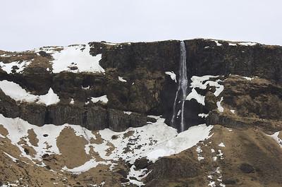 Bjarnarfoss séður frá Hraunhöfn