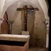 The crypt altar