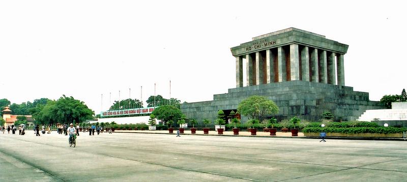 Ba Ðình square Hà Nội Việt Nam - Aug 2002