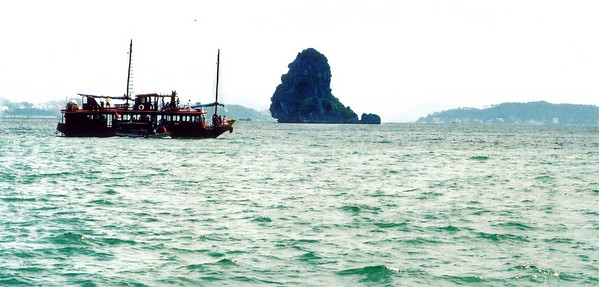 The Old Man island Vịnh Hạ Long Hạ Long Bay Việt Nam - Aug 2002