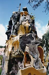 Exterior Hàng Nga guesthouse Đà Lạt Việt Nam - Aug 2002