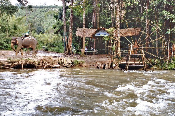 Top of Dambri falls Lam Đồng Việt Nam - Aug 2002