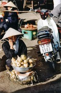 Corns on the cob Đà Lạt Việt Nam - Aug 2002