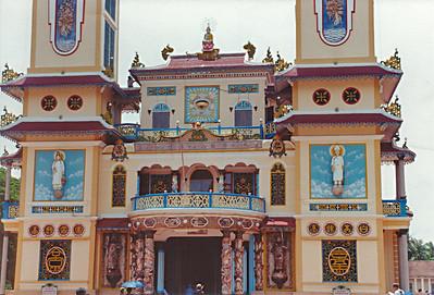 Nhà Thờ Cao Ðài Cao Ðài temple Tây Ninh Việt Nam - Jul 2002