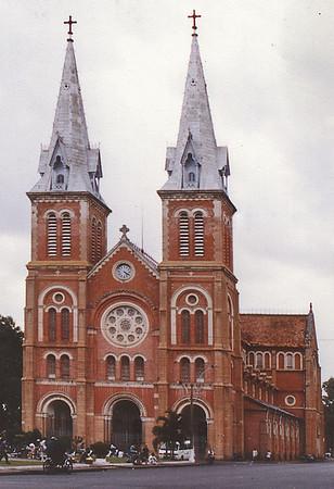 Nhà Thờ Phước Bà Catholic cathedral Saigon - Thành Phố Hồ Chí Minh Việt Nam - Jul 2002