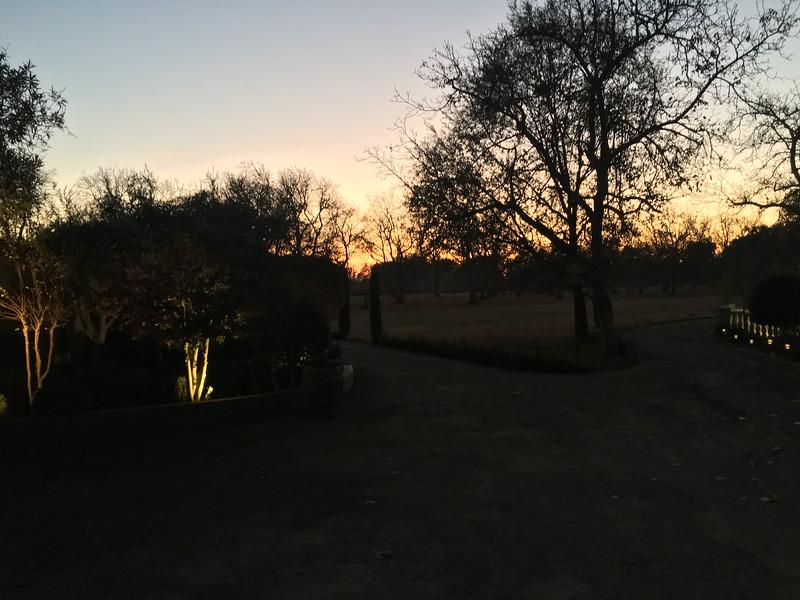 Sunset at Viaggio