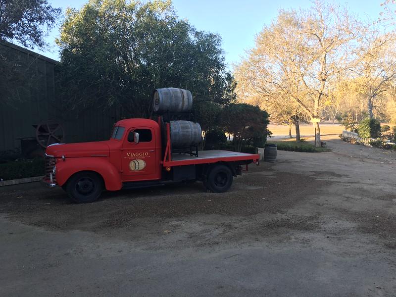 Viaggio wine truck