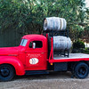 Wine truck. So red!