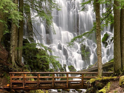 Ramona Falls, Oregan.