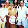 Margarita, Denis Henry, Vicki Skinner, ___, Mario Muneton at Puerto Vallarta, Mexico airport
