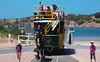 The Victor Harbor Horse Drawn Tram is a nostalgic reminder of the golden days of this popular seaside town.