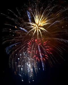 Victoria fireworks