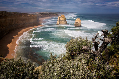 Overlooking Gibson's Steps at 12 Apostles