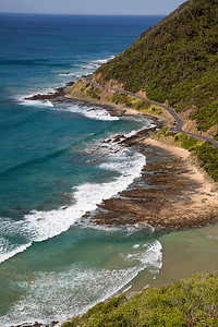 Great Ocean Road near Lorne