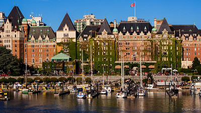 Victoria, BC The Inner Harbor and the Empress Hotel