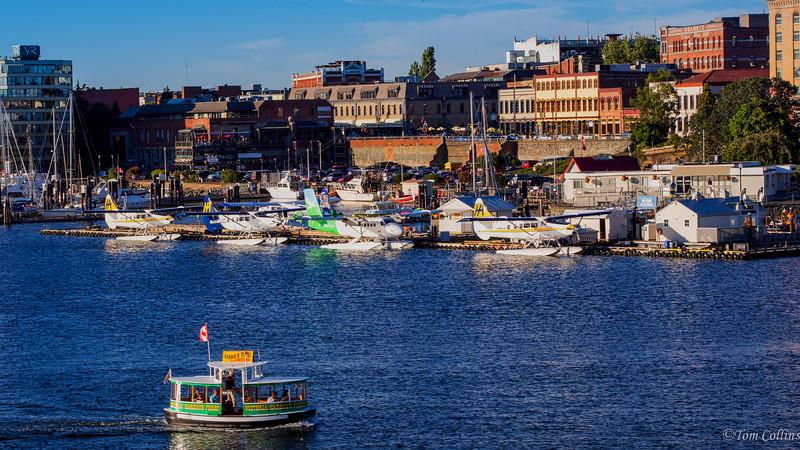 Victoria, BC, The Inner Harbor