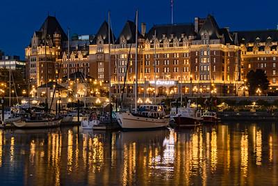 Victoria Harbour & Empress Hotel