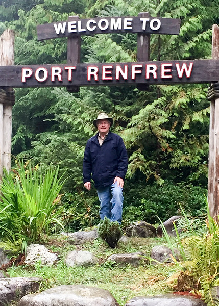 Port Renfrew is a couple of hours up the coast from Victoria