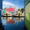 Float Homes at Fisherman's Wharf