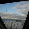 View from my seat on the ferry.