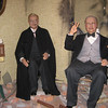 Royal London Wax Museum<br /> Winston Churchill and Franklin D Roosevelt