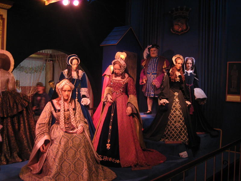 Royal London Wax Museum<br /> Henry & wives