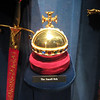 Royal London Wax Museum<br /> The Small Orb<br /> (left - 3 Swords of Justice, right - Great Sword of State)