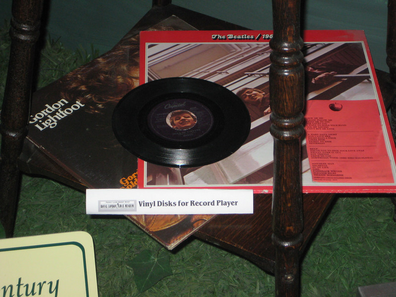 Royal London Wax Museum<br /> Oooo... Vinyl Disks for Record Player! :-)