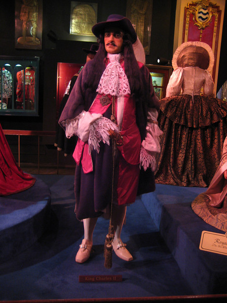 Royal London Wax Museum<br /> King Charles II