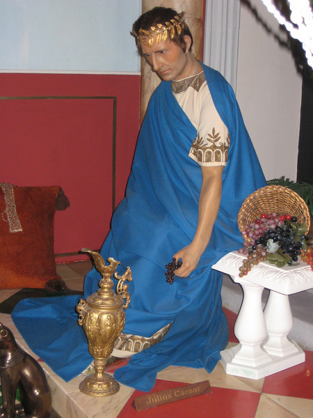 Royal London Wax Museum<br /> Anthony in Roman Interlude