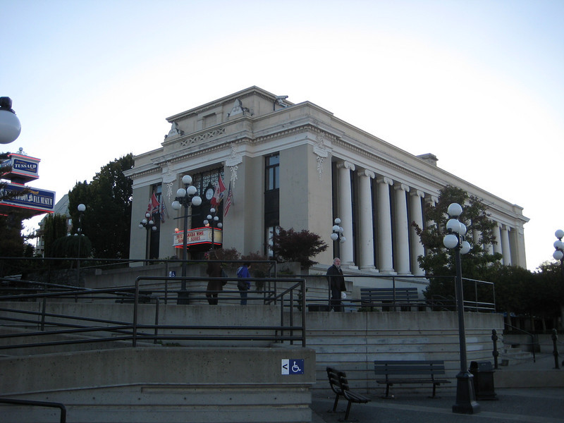 The building housing the Wax Museum.