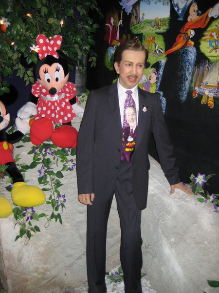 Royal London Wax Museum<br /> Walt Disney