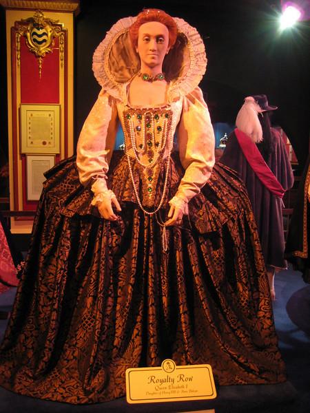 Royal London Wax Museum<br /> Queen Elizabeth I