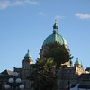 top of the British Columbia Parliament Building