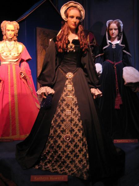Royal London Wax Museum<br /> Kathryn Howard