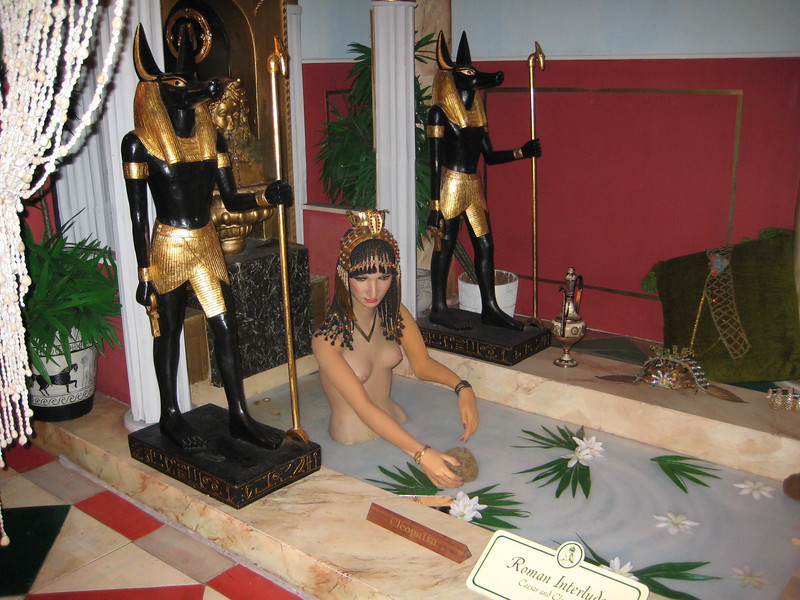 Royal London Wax Museum<br /> Cleopatra in Roman Interlude