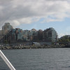 View from my seat on the ferry. Really neat building. Coming up on Victoria.