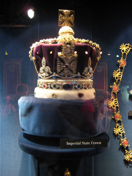Royal London Wax Museum<br /> Imperial State Crown