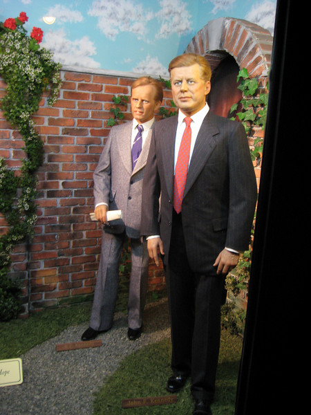 Royal London Wax Museum<br /> J.F. Kennedy and Robert F. Kennedy