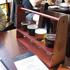 "Irish Times Pub<br /> ""Local"" beer taster rack"