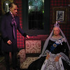 Royal London Wax Museum<br /> Queen Victoria and Prime Minister Benjamin Disraeli