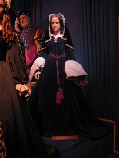 Royal London Wax Museum<br /> Katherine Parr