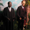 Royal London Wax Museum<br /> Dr. Martin Luther King, Jr and Abraham Lincoln