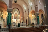 """The reredos formerly called the """"High Altar"""". St. Fidelis church and cemetery, Victoria, KS"""