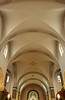 The ceiling is 44 ft. abouve the ground and seating capacity is 1,100. St. Fidelis church and cemetery, Victoria, KS