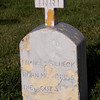 Frances Scheck, born 1855, died Oct. 3, ?? St. Fidelis Cemetery, Victoria, KS