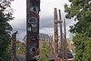 Totem Poles on the Waterfront