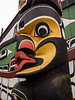 Mungo Martin carved the heraldic pole in 1952 to represent all of the  Kwakwaka'wakw (Kwakiutl) nations.